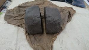 粘土のかたまり